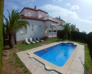 Holiday rental Villa Miami Platja - Tarragona - Villas of 160 m2